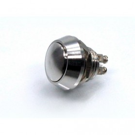 Boutons et Contacteurs MOTOGADGET MOTOGADGET MINI BOUTON POUSSOIR M12 INOX IM-9003045