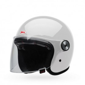 Casques BELL CASQUE BELL RIOT SOLID BLANC 7084468