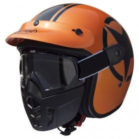 Casques PREMIER CASQUE PREMIER MASK METALLIC ORANGE MASK METALLIC ORANGE