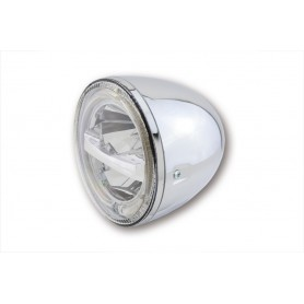 Phares HIGHSIDER HIGHSIDER 5 3/4 POUCES PHARE LED CIRCLE CHROME 223-047