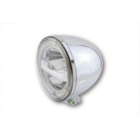 Phares HIGHSIDER HIGHSIDER 5 3/4 POUCES PHARE LED CIRCLE CHROME 223-049