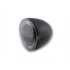 Phares HIGHSIDER HIGHSIDER 5 3/4 POUCES PHARE LED CIRCLE NOIR 223-046